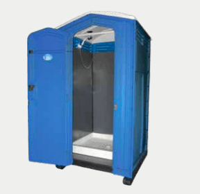 portable gas shower hire