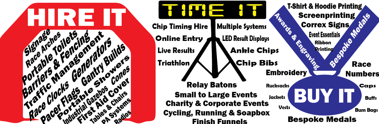 time2run events uk sports event management and hire chip timing generators portable toilets and much more