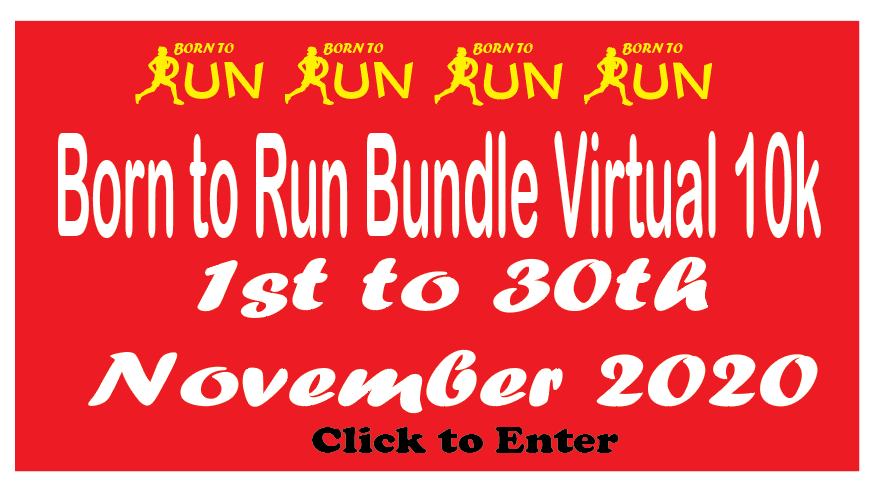 born to run virtual 10 race 2020