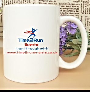 time2run running events bolton england finisher mug