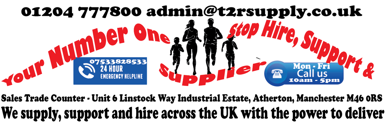 T2R SUPPLY SCREEN PRINTING EMBROIDERY HIRE ATHERTON UK CHIP TIMING Bolton