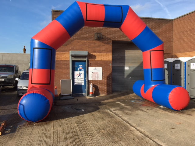 Race Arch Hire throughout UK based north west Manchester