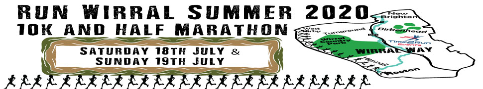 Wirral Way Summer 10k and half marathon 2020